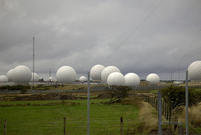 Menwith Hill US Spy Base